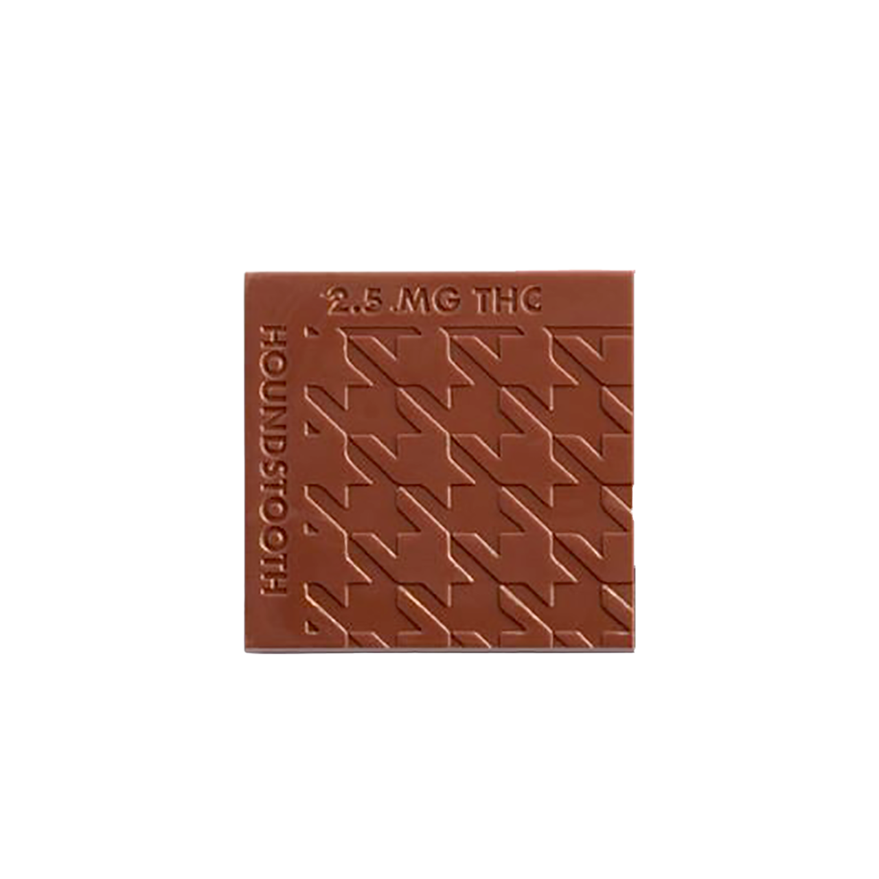 Houndstooth Mocha Milk Chocolates