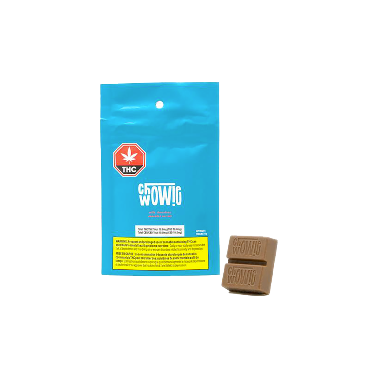 THC/CBD Milk Chocolate